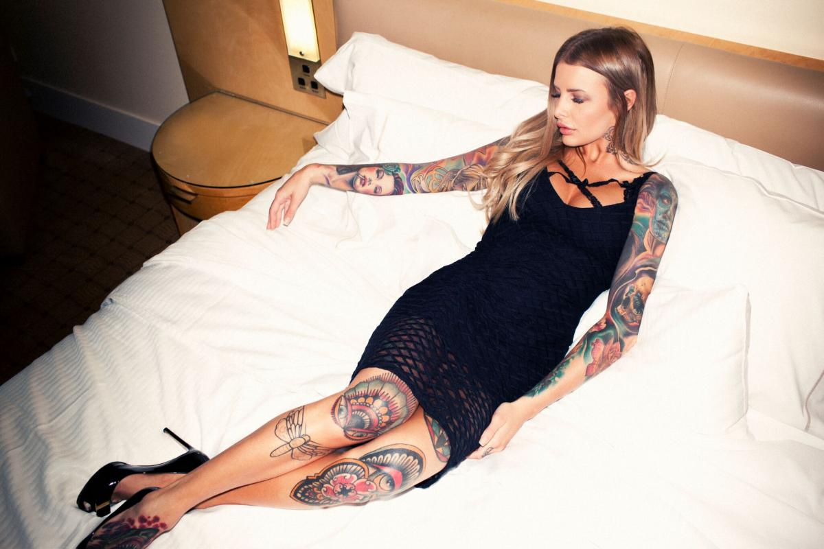 Evelyn May tattoo model in Melbourne this week! Thursday and Fri ONLY 16-17th