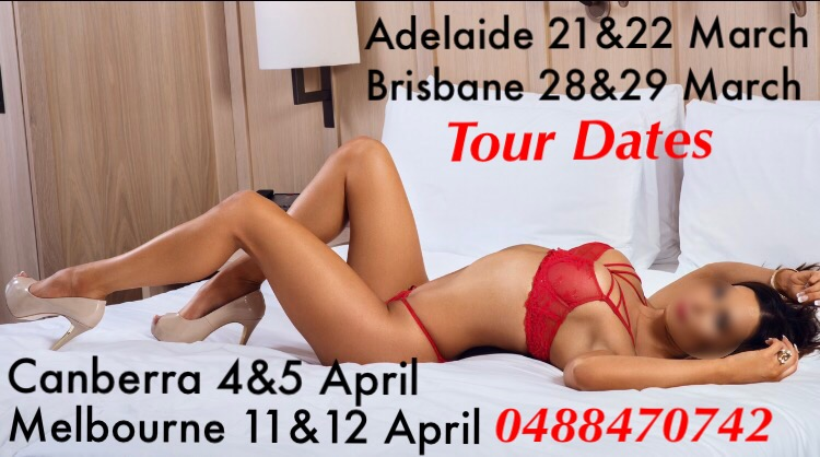 Natalie is touring Adelaide 21st & 22nd March