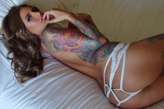 EVELYN MAY TATTOO MODEL- SYDNEY 9-11 July. I'm back lovers