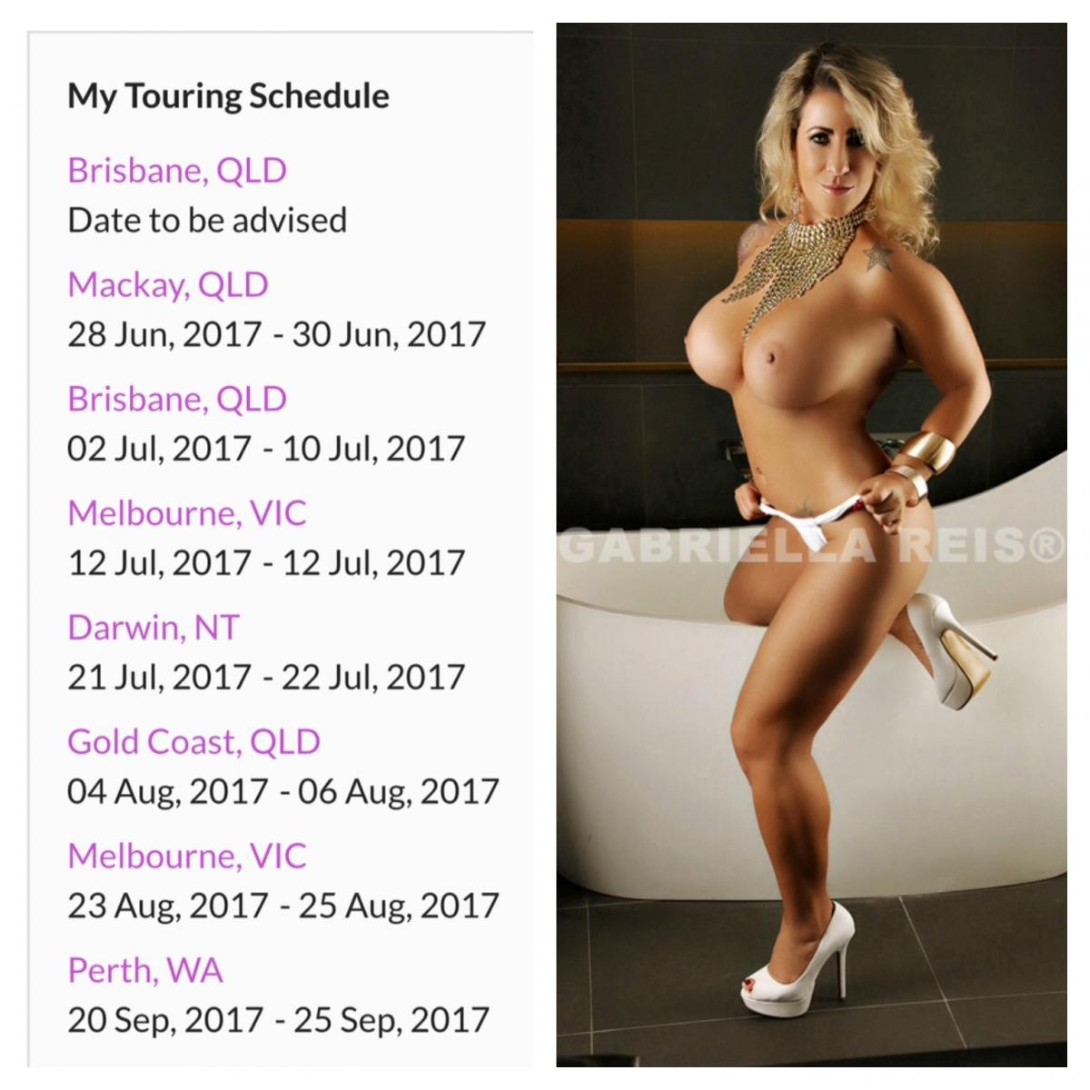 Gabriella Reis is coming back Darwin 21st & 22nd July