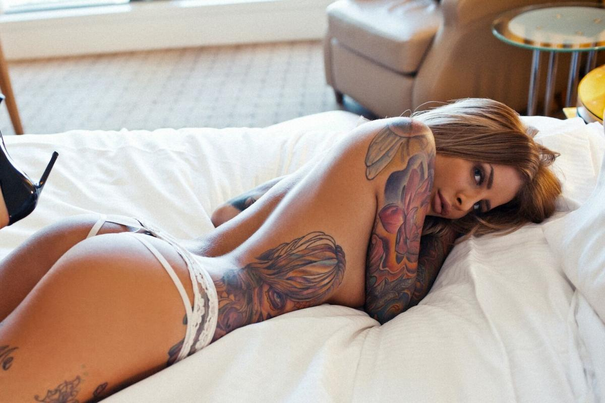 Evelyn tattoo model in Melbourne this week! 19-21 JULY