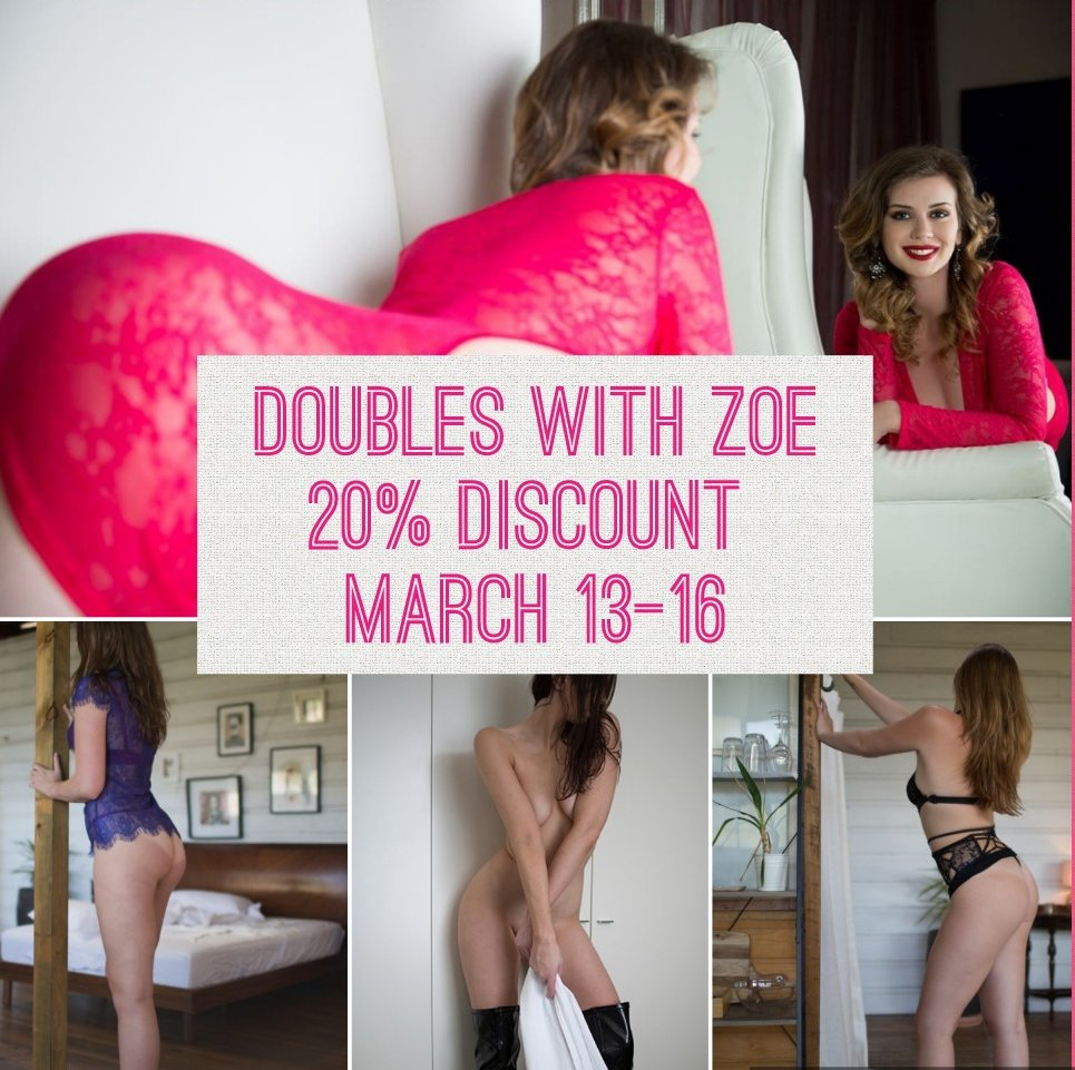 20% Discount - Doubles With Zoe In Sydney March 13-16