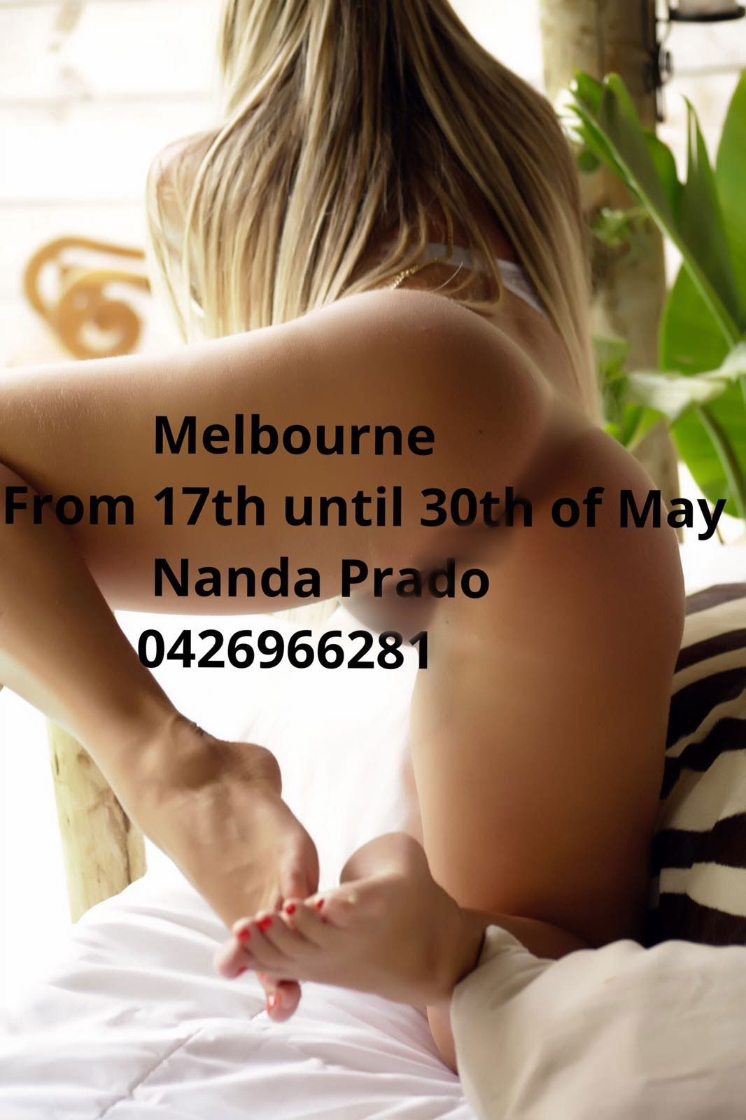 The Hottest Brazilian Girl In Melbourne From 17th Until 29th of May
