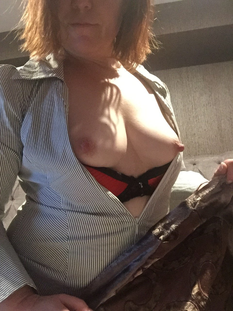 Brisbane Escort, natural breasts, long pink nipples