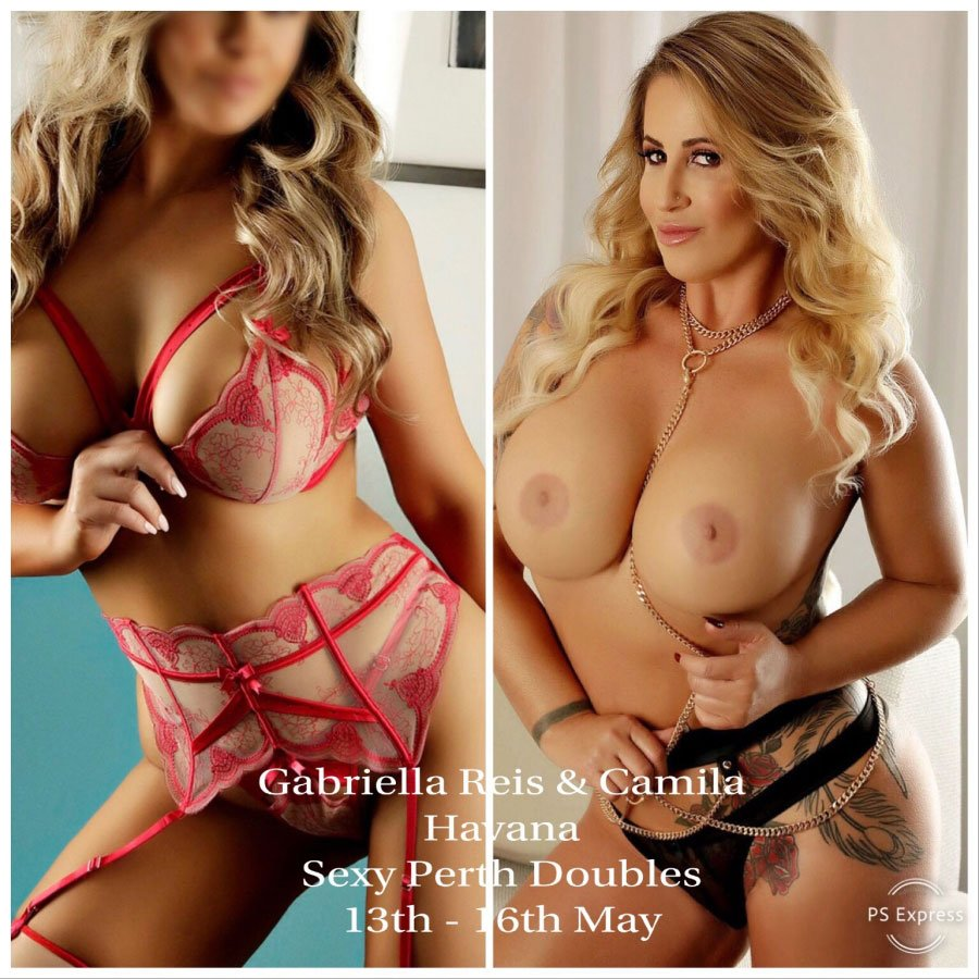 GABRIELLA REIS IN PERTH 13th to 16th MAY and sexy PLAYMATE !