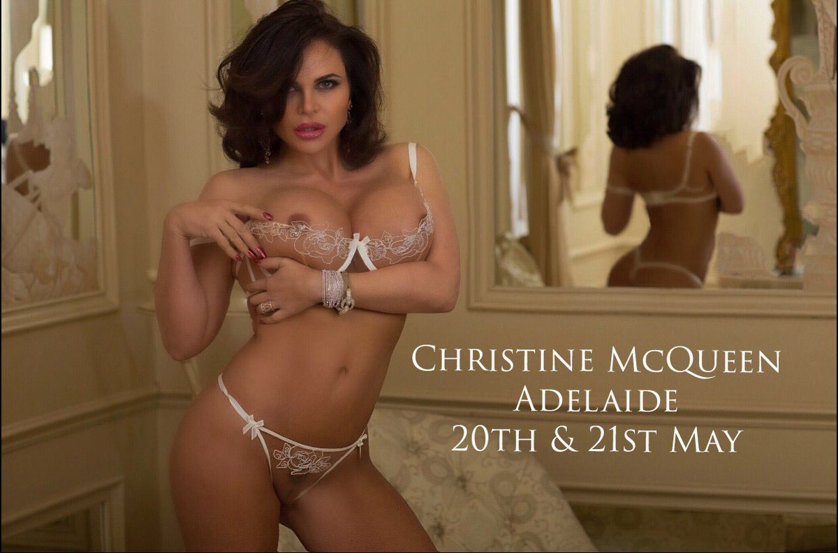Christine McQueen in Adelaide 20th-21st May
