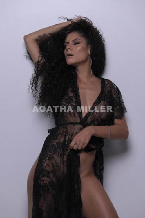 Agatha Miller is an exotic-looking model and escort based in Sydney.