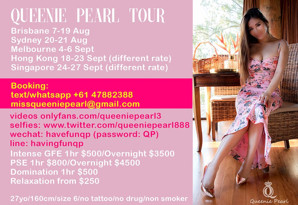 BRISBANE 8-19 Aug | SYD 20-22 Aug | MEL 4-6 Sept | HK 18-23 Sept | SG 24-27 Sept - Escorts in Tour