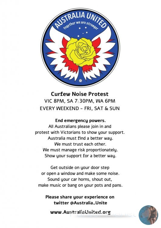 Curfew Noise Protest - End Emergency Powers