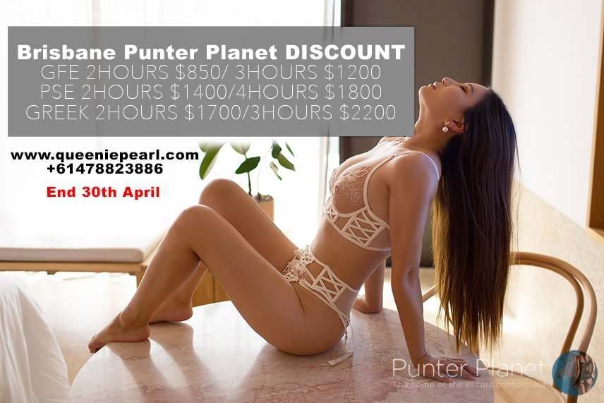 Brisbane Special only GFE 2hours $850 / 3hours $1200 *quote punterplanet for discount